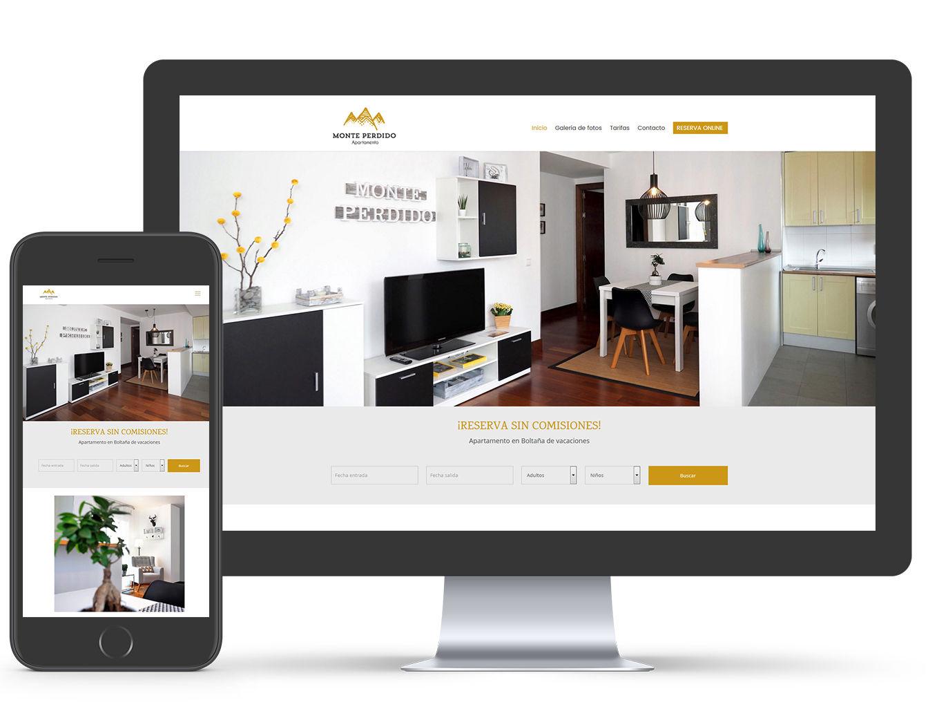 pagina web apartamento turistico