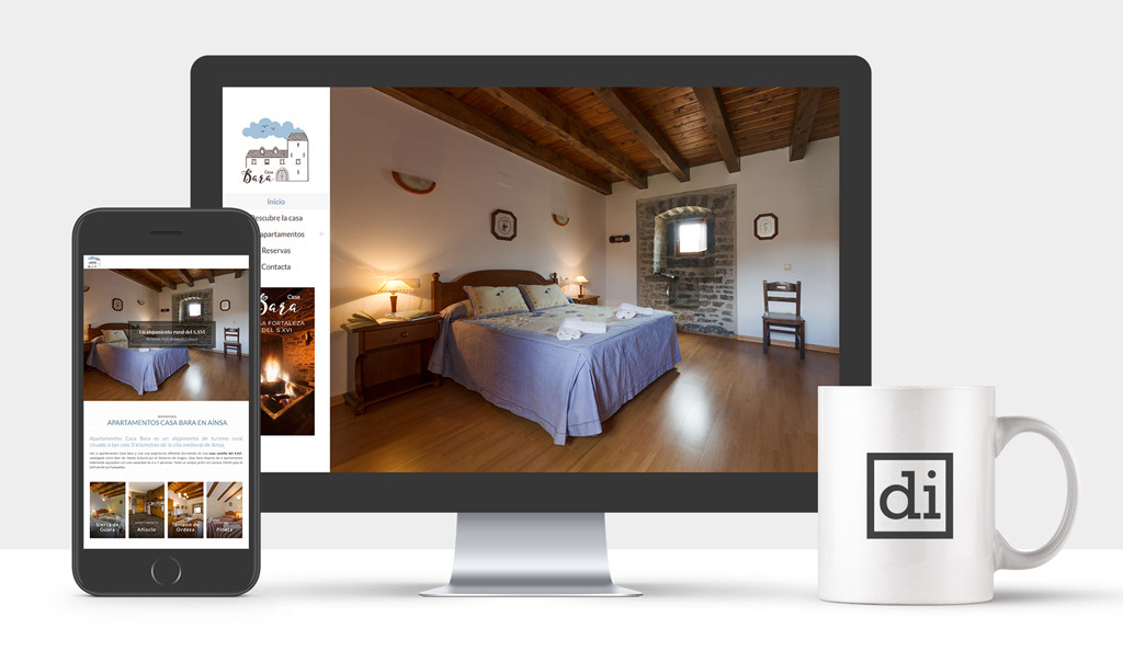 web para casa rural