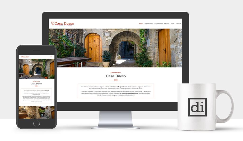 pagina web para casas rurales